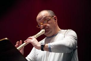 Winfried Hackl, Blockflöte