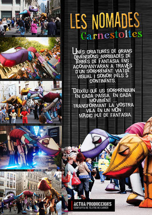 Espectacles de carrer Carnaval