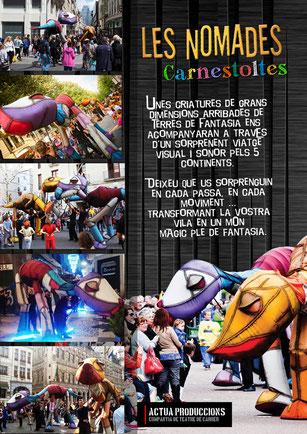 Espectacles de carrer Carnaval