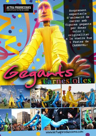 Animació Rua de Carnaval