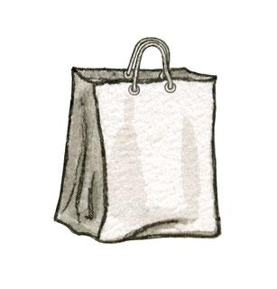 Illustration Einkaufstüte Shopping Bag
