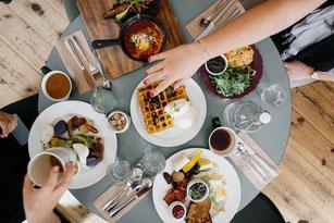 Ernährung, aktives und gesundes Hotel