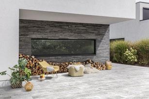 Revêtements sols et murs en pierre bleue - Gedimat Couvin