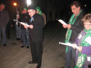 2011 - Trauerzeremonie während der Nubbelverbrennung