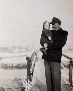Konstantin Eduard Stein mit Tochter Christa