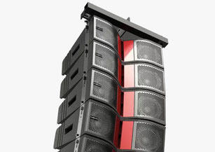 sistema lineal amplificado, line array