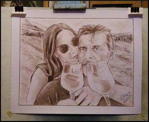 Portrait-d-apres-photo-crayon-sepia
