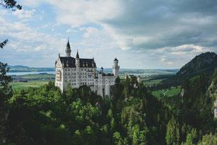 ヨーロッパの壮観な城