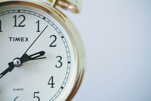 時計 タイムリミットが迫っている