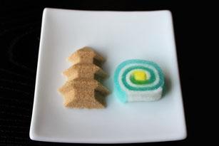 青木村郷土美術館 喫茶室 和菓子