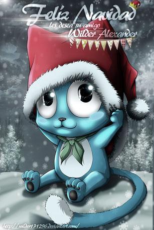 Ilustración con texto por Navidad 2014