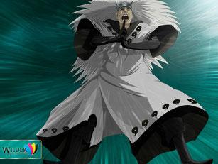 Uchiha Madara (Ilustración del Manga de Naruto  Shippuden)