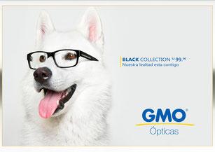 Practica de Afiche Publicitario para Ópticas GMO