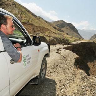 Bodenerosion-Projektreise Zentralasien / Welthungerhilfe