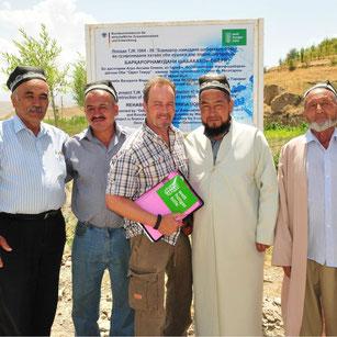 Wasserbauprojekt in Tadschikistan / Welthhungerhilfe