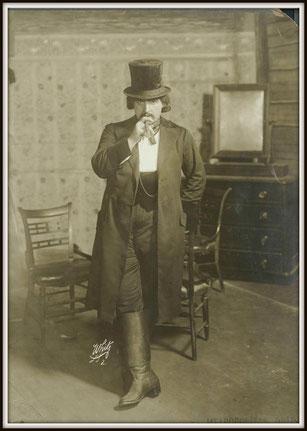 Giacomo Puccini - LA FANCIULLA DEL WEST   -    Jack Rance     -     Pasquale Amato ha partecipato alla prima assoluta dell'opera avvenuta al Teatro Metropolitan di New York il 10 dicembre 1910