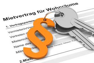 Mietvertrag, Vermietung von Wohnung und Häusern