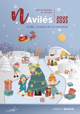 Programa de la Navidad en Avilés