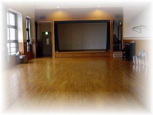 集会室:誕生会や敬老会、音楽レクなど、さまざまな行事や催し物を行っています。