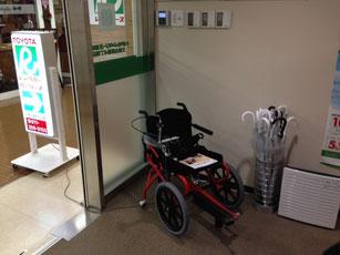 札幌地下街足こぎ車椅子