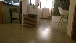 Sichtestrich Küchenboden
