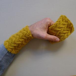 vakkerting stulpen pulswärmer armwärmer handgestrickt stricken anleitung