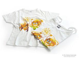 """T-shirts bambino personalizzate in quadricromia - Area di Ricerca TS - Evento """"Open Day"""""""