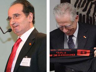 Premio Innovazione FVG - Autorità  con pin mosaicfantasy