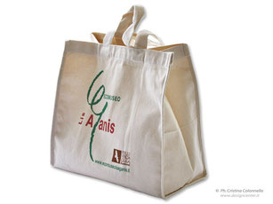 Shopper personalizzata in cordura, canvass
