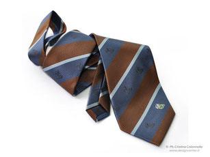 Cravatta seta Regimental - CCIAA Gorizia