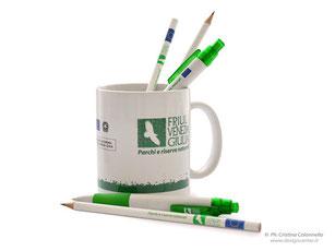 Tazza Mug con penne matite merchandising  Parchi e Riserve naturali