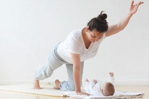 Mama & Babykurse: Rückbildungsgymnastik / Rückbildung