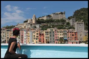 Cinque Terre, Italie, voyage à vélo, Laetitia, bike touring, entreicietla