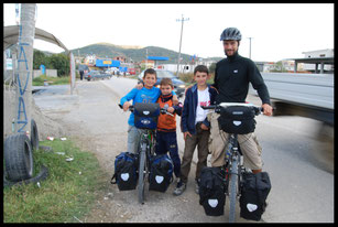 Albanie, voyage à vélo, Laetitia, bike touring, entreicietla