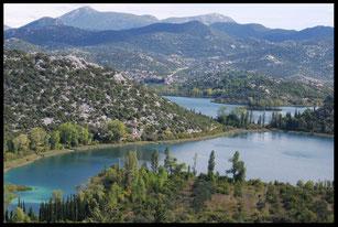 Dalmatie, Croatie,  voyage à vélo, Laetitia, bike touring, entreicietla