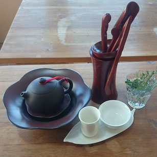 小さな薬草市場 台湾茶の講座