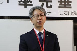 北海道赤十字血液センター旭川事業所 事業課長 土田 幸司 様