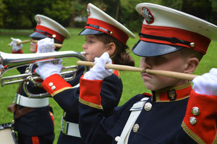 Photo of Coventry Corps of Drums marching