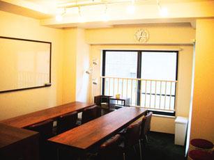 東京都内 会員1時間1000円 セミナールーム