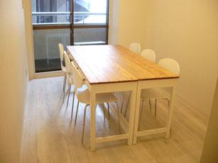 教室で使うモノを宅急便で送れる新宿のレンタルスペース
