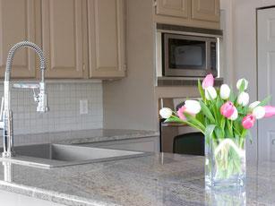 Juparana Granit Küchenarbeitsplatten