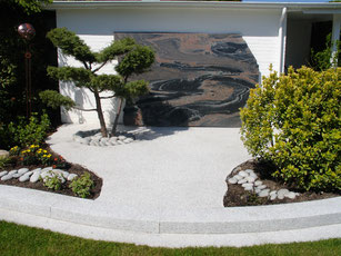 Granit Marmor Gestaltungsobjekte