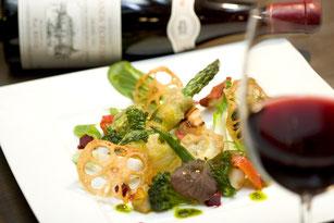 ワインに合う食事 ボルドー ブルボーニュ 道産ワイン アルザスワイン オーストリアワイン