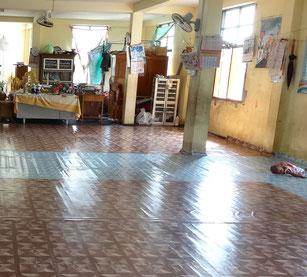 Habitación del abad (duerme en el cuarto común, sin intimidad).
