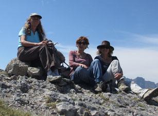 Trois amies en quête d'évolution