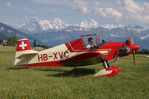 MB01 / Brügger Kolibri MB1 (Rundflug)