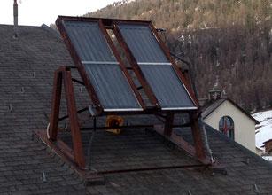 alte Solarthermieanlage