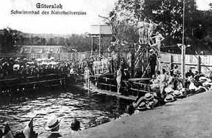 Schwimmbad des Naturheilvereins Gütersloh an der Dalke
