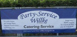 Logo Partyservice Willke