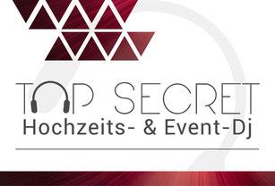 Logo Top Secret Event-DJ